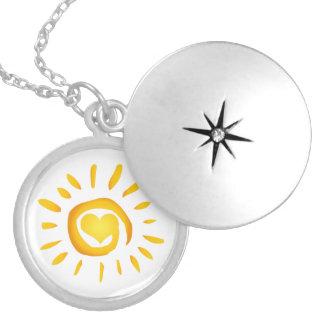Médaillon Avec Fermoir Amour de soleil