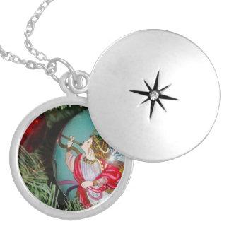Médaillon Avec Fermoir Ange de Noël - art de Noël - décorations d'ange