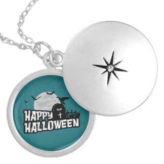 Médaillon Avec Fermoir Halloween heureux