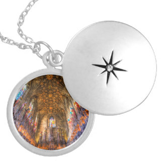 Médaillon Avec Fermoir La cathédrale Edimbourg de St Giles de chapelle de