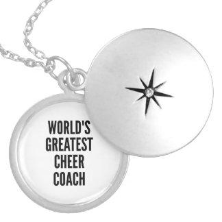 Médaillon Avec Fermoir Le plus grand entraîneur d'acclamation des mondes