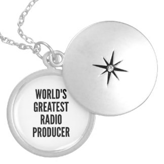 Médaillon Avec Fermoir Le plus grand producteur par radio des mondes