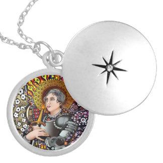 Médaillon Avec Fermoir Saint Jeanne d'Arc
