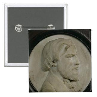 Médaillon de soulagement de Frederic Ozanam Badge Carré 5 Cm