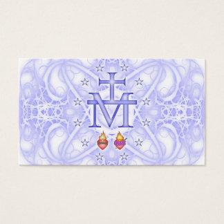 Médaillon miraculeux cartes de visite