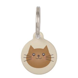 Médaillon Pour Animaux Amoureux des chats Girly mignon de Kawaii Kitty