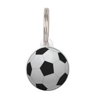 Médaillon Pour Animaux Ballon de football