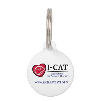 Médaillon Pour Animaux Étiquette d'animal familier d'I-CAT