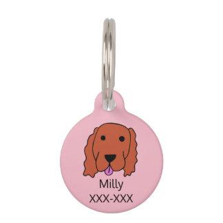 Médaillon Pour Animaux Étiquette de chien faite sur commande