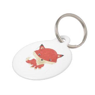 Médaillon Pour Animaux Étiquette mignonne customisée d'animal familier de