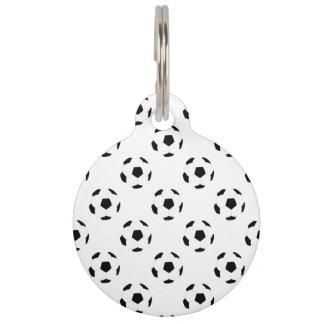 Médaillon Pour Animaux Motif de ballon de football