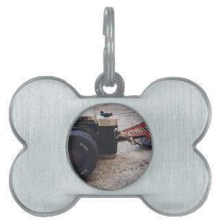 Médaillons Pour Animaux Domestiques Appareil-photo de film de Nikon