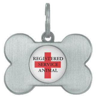 Médaillons Pour Animaux Domestiques Entretenez l'étiquette animale