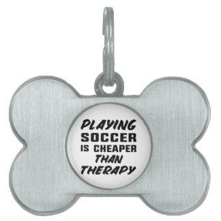 Médaillons Pour Animaux Domestiques Jouer au football est meilleur marché que la