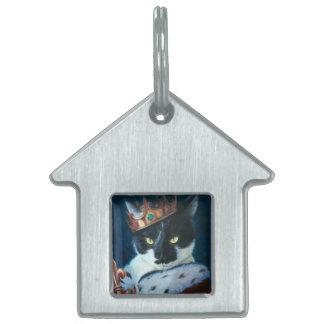 Médaillons Pour Animaux Domestiques Le Roi royal Ted de Kitty