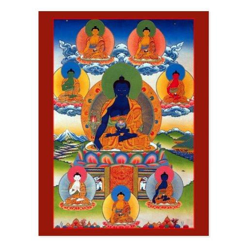 Médecine Bouddha Carte Postale