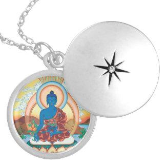 Médecine Bouddha - maître curatif - pendentif arge