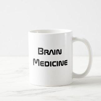 Médecine de cerveau - tasse de café drôle