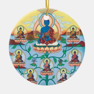 Médecine EN CÉRAMIQUE Bouddha d'ORNEMENT + 8