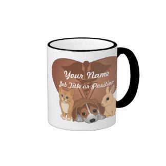 Médecine vétérinaire mug ringer