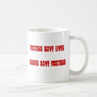 Médecins Save Lives - les infirmières sauvent des Mug