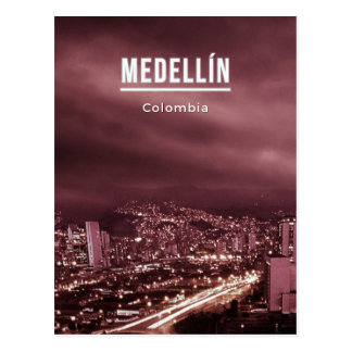 Medellin Colombie Carte Postale