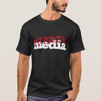 médias antisociaux t-shirt