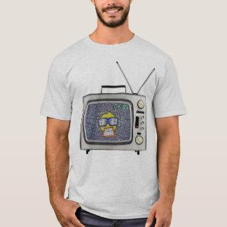 Médias de Hee de pièce en t à la vieille école TV T-shirt