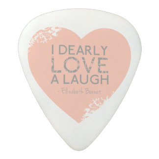Médiator Acetal Amour pour rire le coeur de rose de citation de