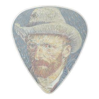 Médiator Acetal Autoportrait de Vincent van Gogh | avec le chapeau