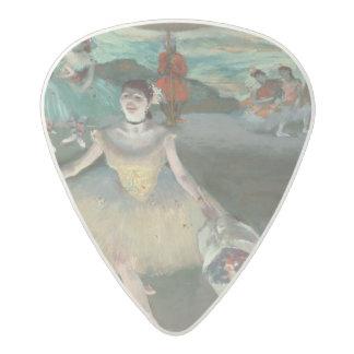 Médiator Acetal Danseur d'Edgar Degas   avec le bouquet, faisant