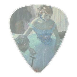Médiator Acetal Danseur d'Edgar Degas   dans son vestiaire