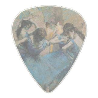Médiator Acetal Danseurs d'Edgar Degas   dans le bleu, 1890