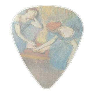 Médiator Acetal Edgar Degas   deux danseurs au repos, danseurs