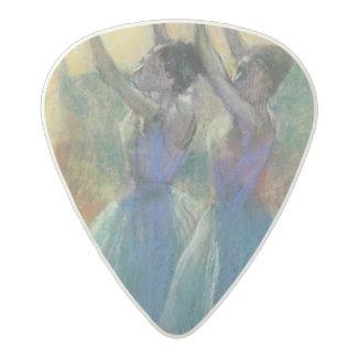 Médiator Acetal Edgar Degas   deux danseurs bleus