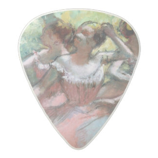Médiator Acetal Edgar Degas   quatre ballerines sur l'étape