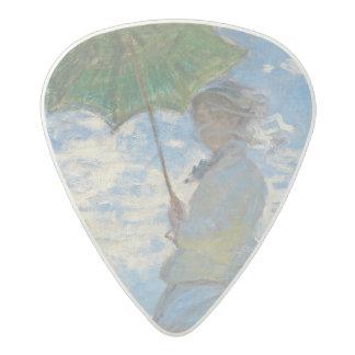 Médiator Acetal Femme de Claude Monet | avec un parasol