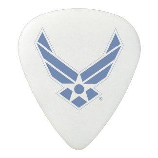 Médiator Acetal Logo d'armée de l'air des États-Unis - Bleu