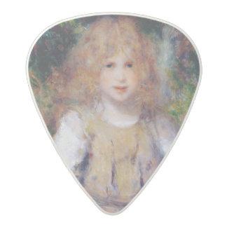Médiator Acetal Pierre une fille gitane de Renoir |