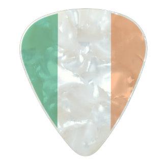 Médiator Perle Celluloid Drapeau des onglets de guitare de l'Irlande