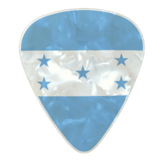 Médiator Perle Celluloid Drapeau des onglets de guitare du Honduras