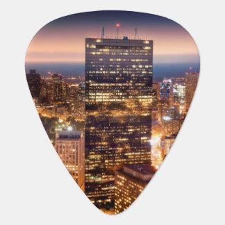 Médiators Aperçu de Boston la nuit