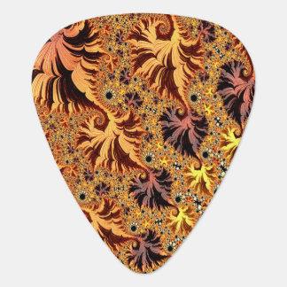 Médiators Art de fractale de feuille coloré par automne d'en