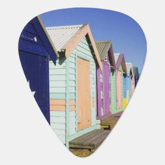 Médiators Baigner des boîtes, plage moyenne de Brighton,