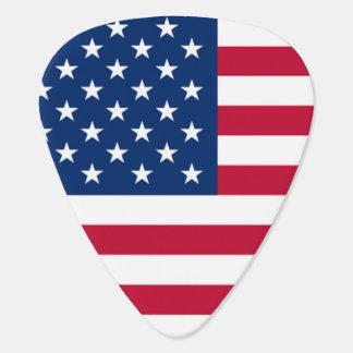 Médiators Bannière étoilée fraîche de drapeau américain des