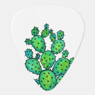 Médiators Cactus épineux d'aquarelle magnifique