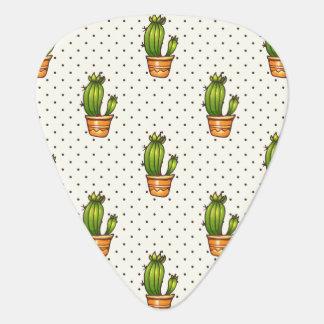 Médiators Cactus et motif de point succulent de Polk