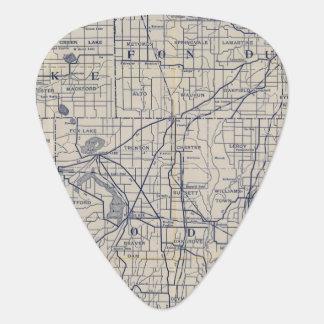 Médiators Carte de route de bicyclette du Wisconsin 4