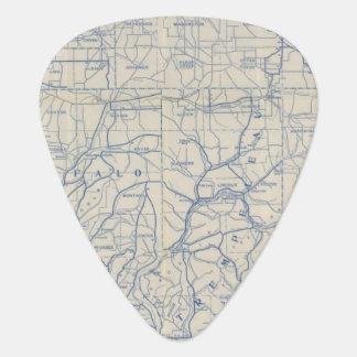 Médiators Carte de route de bicyclette du Wisconsin 6