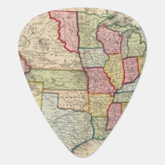Médiators Carte des Etats-Unis, et des territoires